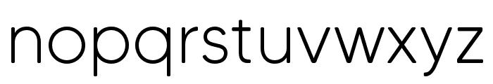 MADETommySoft-Light Font LOWERCASE