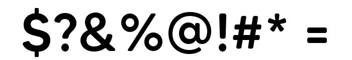 MADETommySoft-Medium Font OTHER CHARS