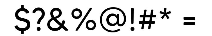 MADETommySoft Font OTHER CHARS
