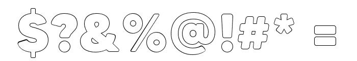 MADETommySoftOutline-Black Font OTHER CHARS