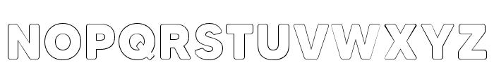 MADETommySoftOutline-ExtraBold Font UPPERCASE