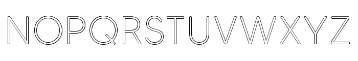MADETommySoftOutline-Light Font UPPERCASE