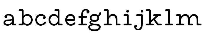 MADEWaffleSlab Font LOWERCASE