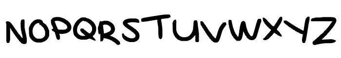 MAGNESAC Font UPPERCASE