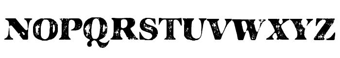 MAJOR GUILTY Font UPPERCASE