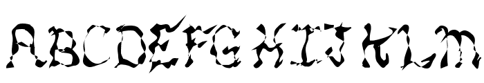 MANIC Font UPPERCASE