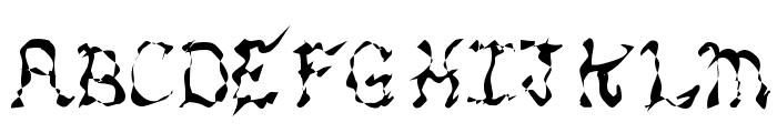 MANIC Font LOWERCASE