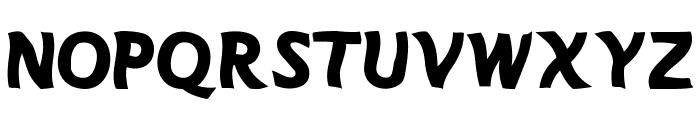 MANOLETE Font UPPERCASE