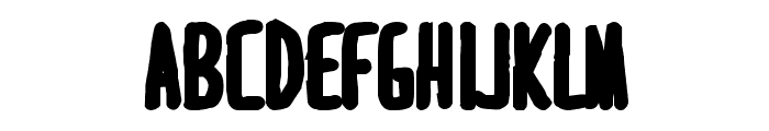 MARI&DAVID  EXTRABOLD Font LOWERCASE