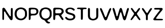 MAW Font UPPERCASE