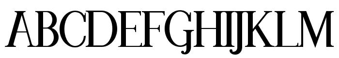 MAWNS Serif Font UPPERCASE