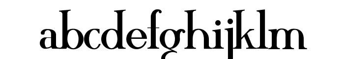 MAWNS Serif Font LOWERCASE