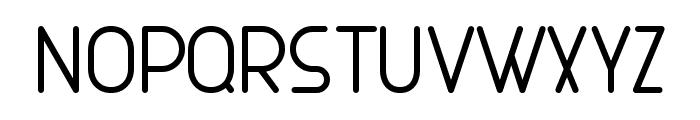 MAXWELL REGULAR Font UPPERCASE