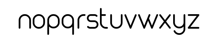 MAXWELL REGULAR Font LOWERCASE