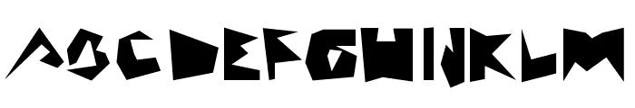 MAZAGUS Font UPPERCASE