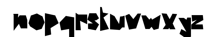 MAZAGUS Font LOWERCASE