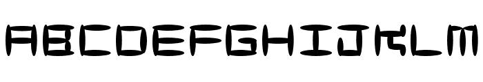 MaccoMac01 Font LOWERCASE