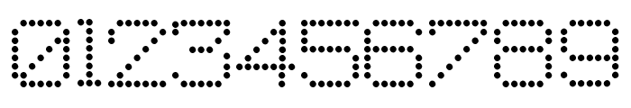 Macedonian 8pin Matrix Font OTHER CHARS