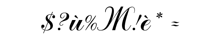 Macedonian Artistic Font OTHER CHARS