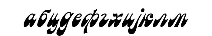 Macedonian Astra Font LOWERCASE