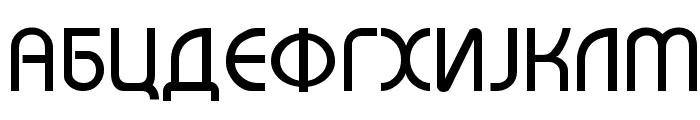 Macedonian Bahamas Font UPPERCASE