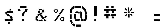 MaceriamSimplex Font OTHER CHARS