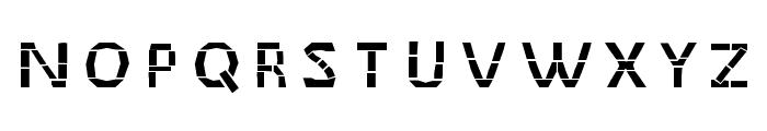 MaceriamSimplex Font UPPERCASE