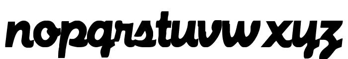 MachineScript Font LOWERCASE