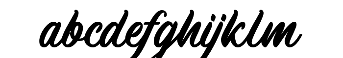 MachineatDemo Font LOWERCASE