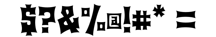 Machohouse Font OTHER CHARS