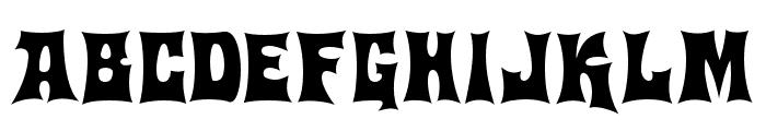 Machohouse Font UPPERCASE