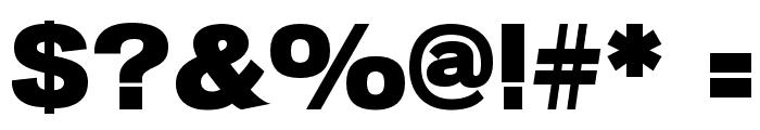 Macromedia Font OTHER CHARS