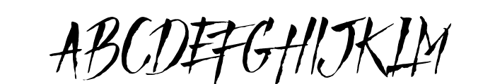 Mad Faith - DEMO Regular Font UPPERCASE