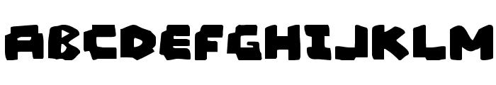 Mad Marker Font UPPERCASE