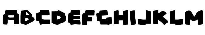 Mad Marker Font LOWERCASE