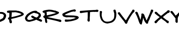 Mad Midnight Marker Font UPPERCASE