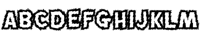 MadScience Font UPPERCASE
