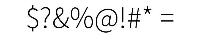 Mada Light Font OTHER CHARS