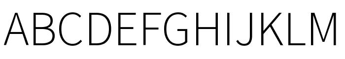 Mada Light Font UPPERCASE