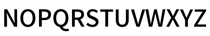 Mada Medium Font UPPERCASE