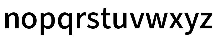 Mada Medium Font LOWERCASE