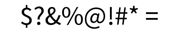 Mada Regular Font OTHER CHARS