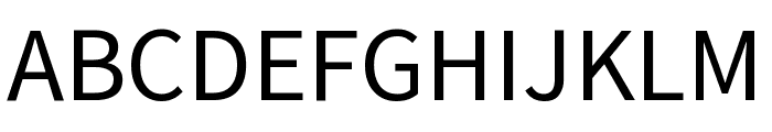 Mada Regular Font UPPERCASE
