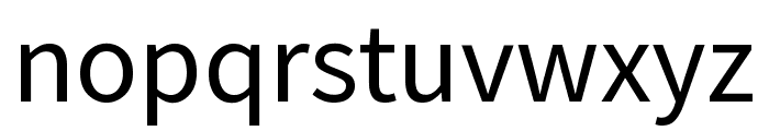 Mada Regular Font LOWERCASE