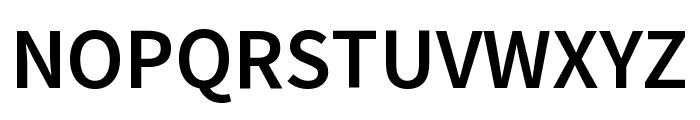 Mada SemiBold Font UPPERCASE