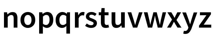 Mada SemiBold Font LOWERCASE