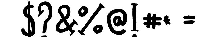 Madalen Letter Font OTHER CHARS