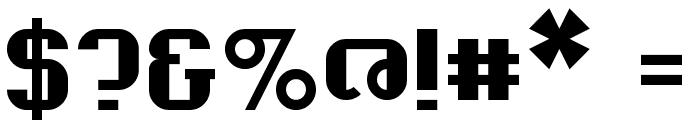 Madcat Regular Font OTHER CHARS