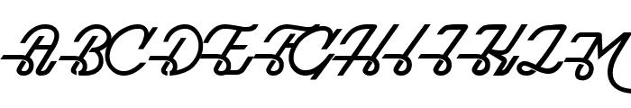 Maddison Font UPPERCASE