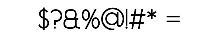 Madeleina Sans Font OTHER CHARS